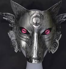 mask decorations samurai wolf mask party prom masquerade