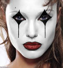 Halloween Clown Makeup by Celebrity Mimes Pictures Freaking News Clown Makeup