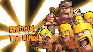best wizard wallpapers clash of clash of clans protect the king youtube