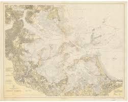 Boston Harbor Map by Boston Harbor Nautical Charts