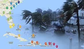 hurricane irma path forecast map warns florida new york and