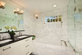 Beautify Houses With Marble Bathroom Design Ideas Carrara Marble Bathroom Designs