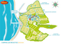 Brittany France Map Camping Les Mouettes Yelloh Village In Brittany