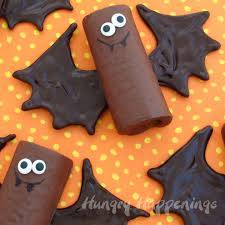 chocolate snack cake bats hungry happenings halloween