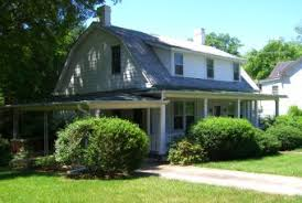 dutch colonial revival architecture in historic chatham virginia