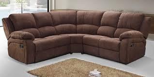 Corner Sofas With Recliners Corner Recliner Sofa Fabric Sofamoe Info