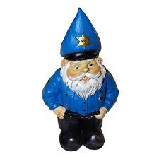 police garden gnome