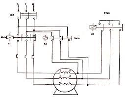 cr4 thread star delta starter motor is not running at delta