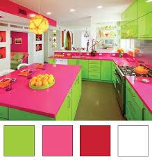 meuble cuisine vert pomme la cuisine nuancier 17 déco en nuances