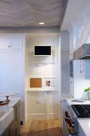 tv in kitchen ideas kitchen with lcd tv cabinets kitchen tv tvs and kitchens