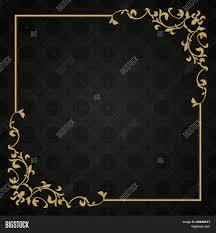Gold Invitation Card Black Color Blank Invitation Card Stock Awesome Ideas Cool