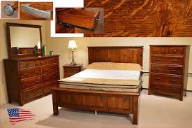 amish rustic quarter sawn oak bedroom jasens furniture top