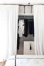 Curtains For A Closet by 230 Best Small Space Solutions Images On Pinterest Small Space