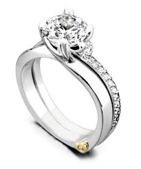 Engagement Ring With Wedding Band by Beloved Traditional Engagement Ring Mark Schneider Design
