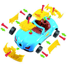 amazon com take apart toy racing car kit for kids tg642 u2013 build