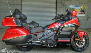 gold motorcycle 2015 honda gold wing 40th anniversary candy red black gl1800