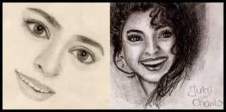 most stunning actresses u0027 drawings by their talented fans pinkvilla