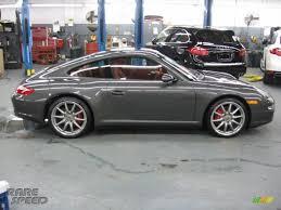 porsche slate grey metallic 2007 porsche 911 carrera 4s coupe in slate grey metallic photo 7
