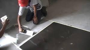 starkfloor epoxy coating application steps youtube