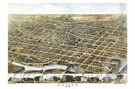 dayton map dayton oh historical map 1870 ted s vintage