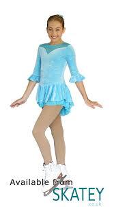 chloe noel dlv20 three quarter sleeve ice skating dress from