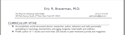 Radio Personality Resume A Critical Look At Dr Eric Braverman And His Path Medical Clinic