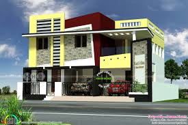 kerala home design 1600 sq feet 2850 square feet tamilnadu style modern house kerala home design