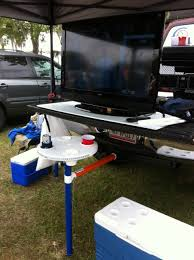 backyard accessories tailgate table aughog products hitch mount aughog products ahp