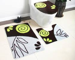 Bathroom Mats Set by Creative Of 5 Piece Bathroom Rug Sets And Nice Looking 3 Piece