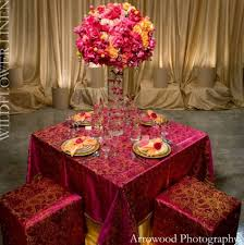 fuschia pink table cloth table linen wildflower linen