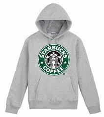 starbucks coffee hoodie on the hunt