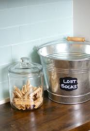 Decorate Laundry Room by Sony Dsc Laundry Pinterest Jars Buckets And Tile