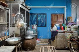 Thai Urban Kitchen Chicago Il Traditional Thai Street Kitchen In Bangkok Thailand Stock Photo