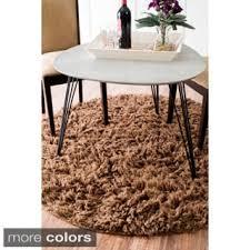 Flokati Wool Rug Nuloom Hand Woven Flokati Wool Shag Rug 5 U0027 X 7 U0027 Free Shipping