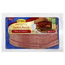 butterball seasoning butterball everyday thin and crispy turkey bacon shop bacon at heb
