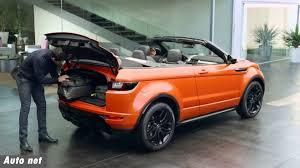 land rover evoque black convertible 2016 range rover evoque convertible exterior interior and drive