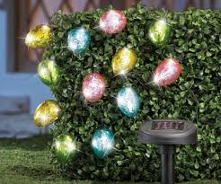 Easter Decorations Lights by Solar Easter Egg String Lights Easter Decorations Pinterest