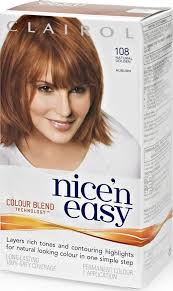 clairol nice n easy natural light auburn clairol nice n easy natural golden auburn 108 compare prices on