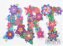 zen doodle art colorful zen doodle flower zen doodle