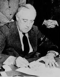 president roosevelt celebrating thanksgiving in in 1939