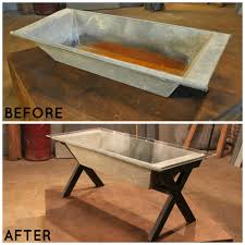Rustic Buffet Tables by Barn Trough Becomes A Rustic Coffee Table U003e U003e Http Www