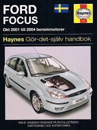 ford focus haynes gör det själv handbok på tradera com