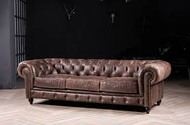 Vintage Chesterfield Sofas Chesterfield Sofa Classic Sofa With Vintage Leather For Antique