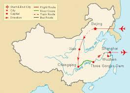 rivers in china map yangtze river tour china tour china tour package