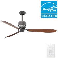 Casablanca Tribeca 60 In Indoor Brushed Nickel Ceiling Fan With 4