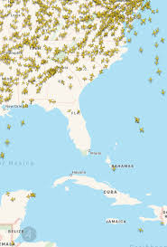 Georgia Florida Map by The Airspace Over Florida And Southern Georgia Right Now Tampa
