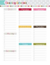 free teacher planner template the polka dot posie how to build your perfect planner there is a new cleaning schedule included in our updated free printables pack and i just love it