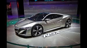honda supercar concept acura nsx concept