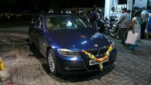 bmw 320d price on road bmw 320d exclusive with gps navigation team bhp