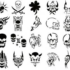 skull la ink tattoos for men pictures fashion gallery